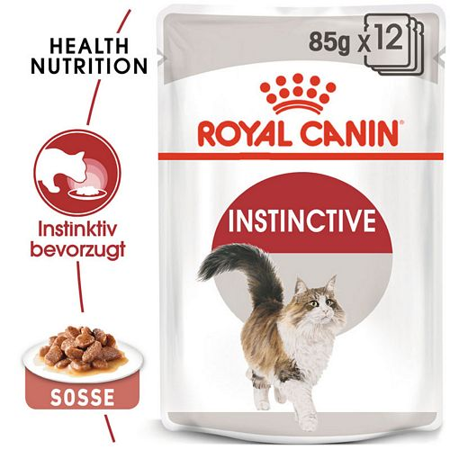 Royal Canin INSTINCTIVE Katzenfutter nass in Soße