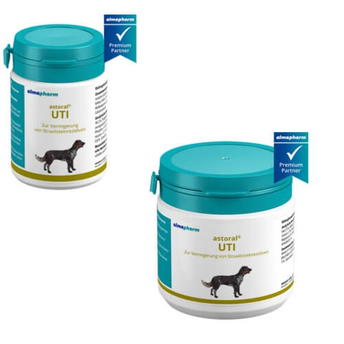 almapharm astoral UTI Tabletten für Hunde