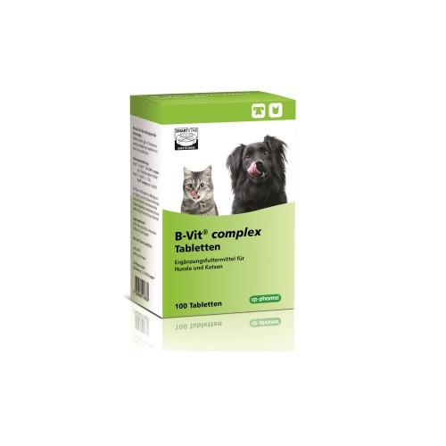 B-Vit complex Tabletten bei Vitaminmangel für Hunde und Katzen von cp-pharma