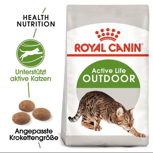 Royal Canin Outdoor Katzen Trockenfutter für Freigänger