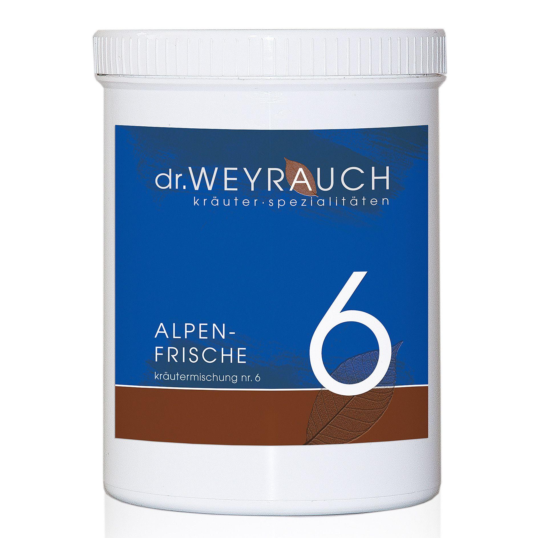 Dr. Weyrauch Nr. 6 Alpenfrische