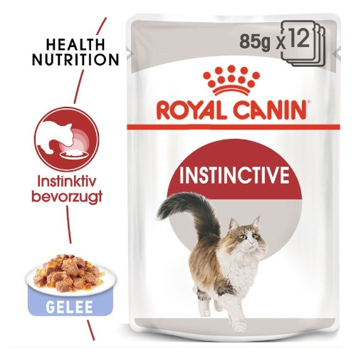 Royal Canin INSTINCTIVE Katzenfutter nass in Gelee