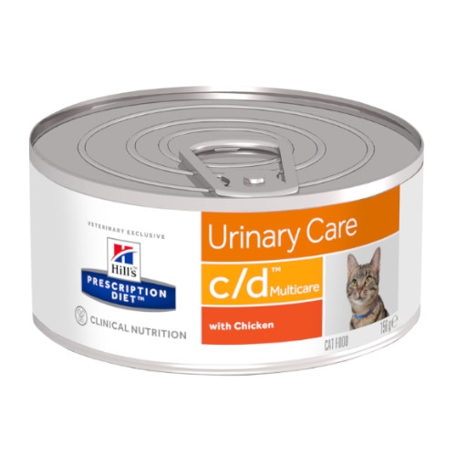 Hill`s Prescription Diet c/d Multicare Chicken feline feingehackt