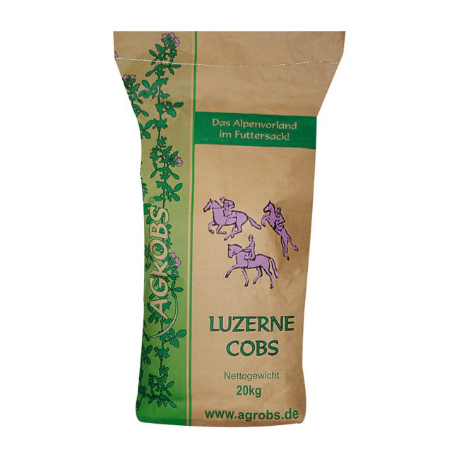 Agrobs Luzernecobs 20 kg Sack
