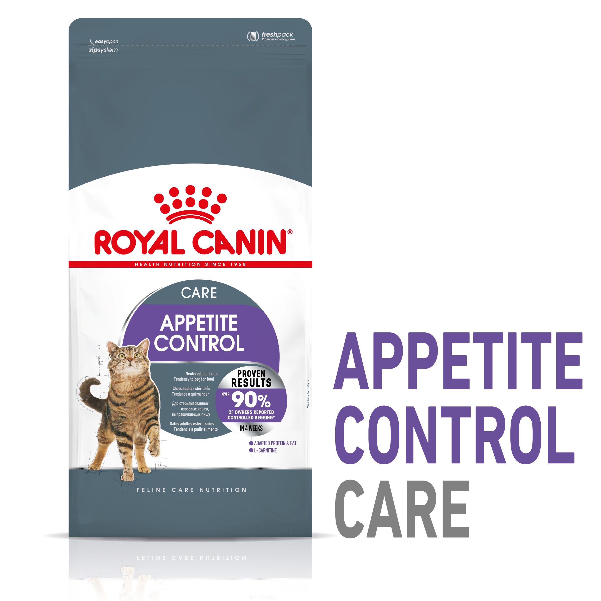 Royal Canin Appetite Control Trockenfutter für kastrierte übergewichtige Katzen