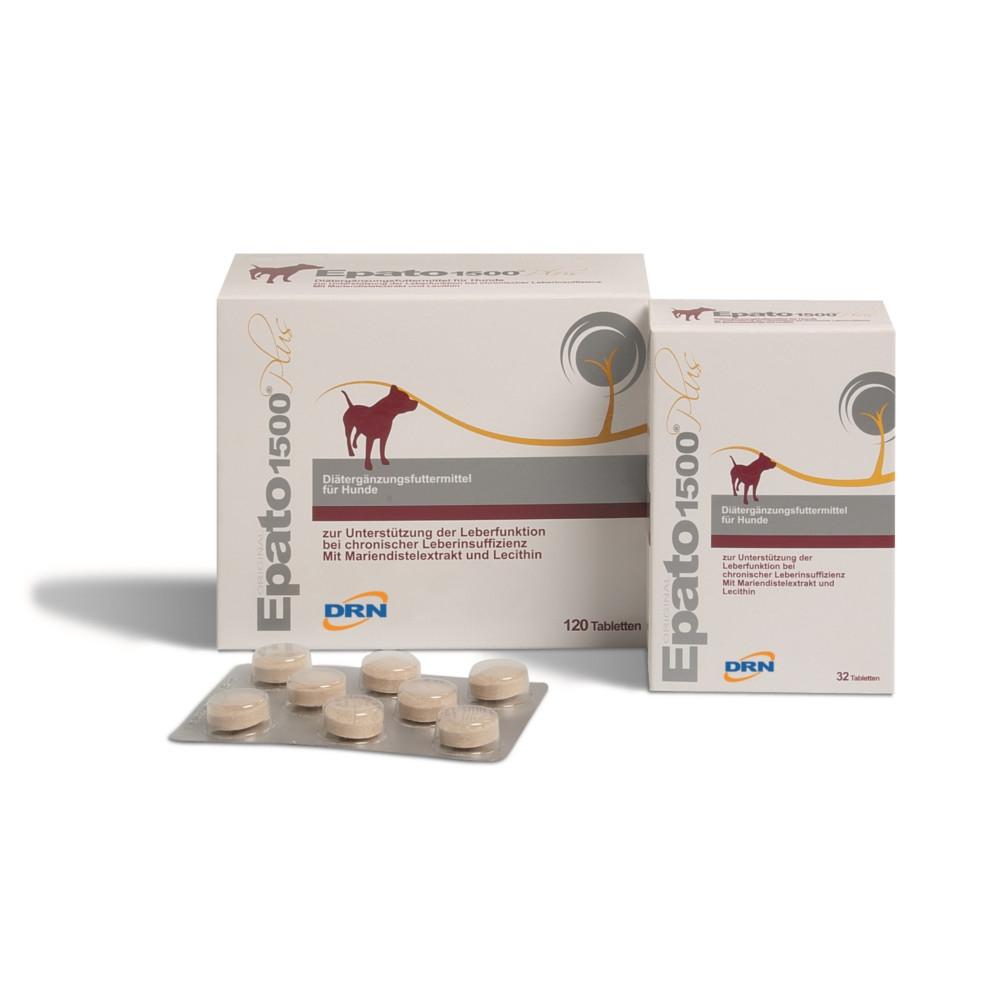 Epato 1500 plus für Hunde mit Lerbererkrankungen von Livisto