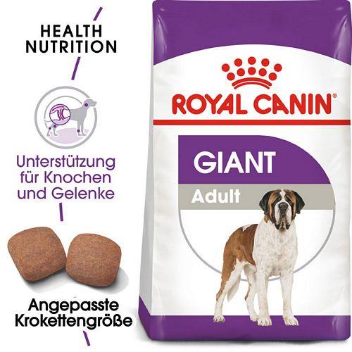 Royal Canin GIANT Adult Trockenfutter für sehr große Hunde
