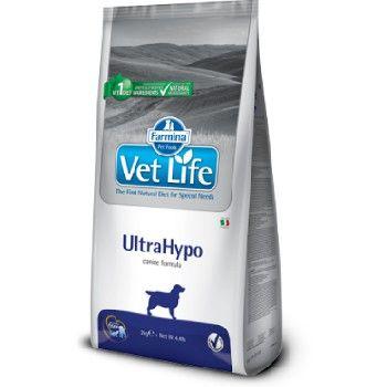 Farmina Vet Life Dog UltraHypo Trockenfutter für Hunde