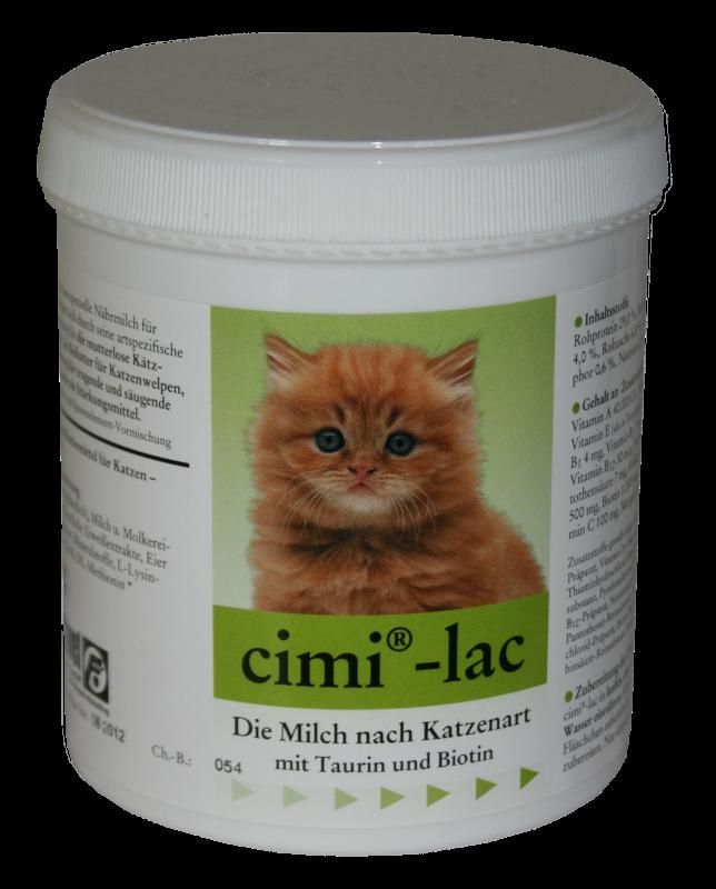 Selectavet Cimi Lac 250g Milchaustauschfuttermittel für Katzen