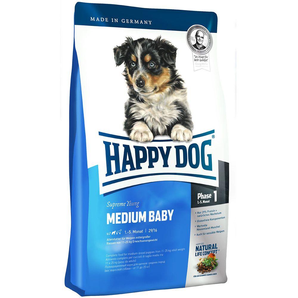 Happy Dog Supreme Medium Baby Trockenfutter