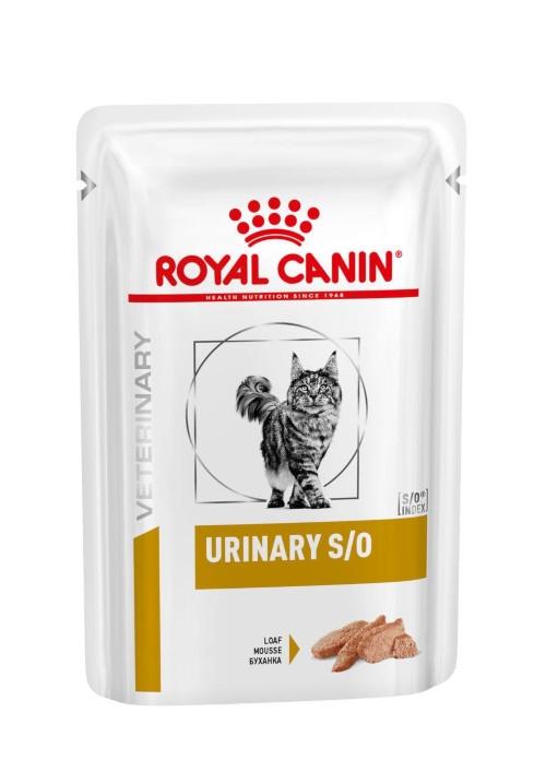 Royal Canin Urinary s/o Feline Mousse Frischebeutel