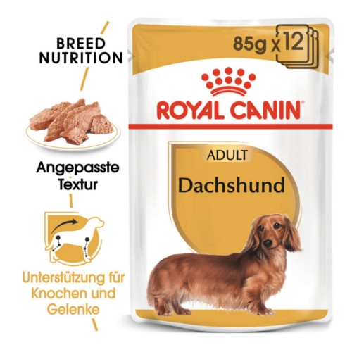 Royal Canin Dachshund Adult Hundefutter nass