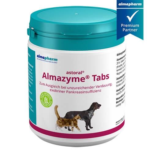 almapharm astoral Almazyme 125 und 650 Tabs