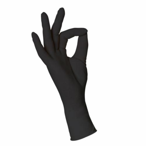 Untersuchungshandschuhe schwarz L 100 Stück aus Nitril