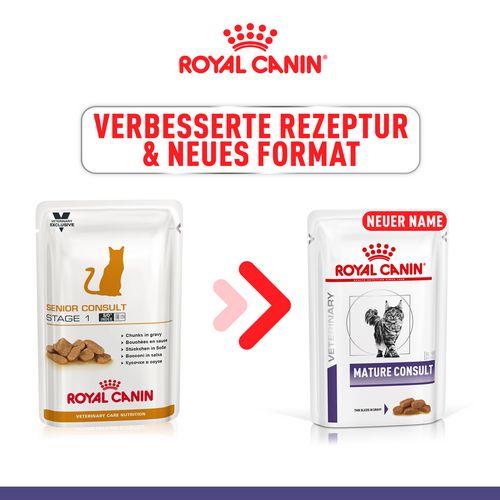 Royal Canin MATRURE CONSULT Feine Stückchen in Soße