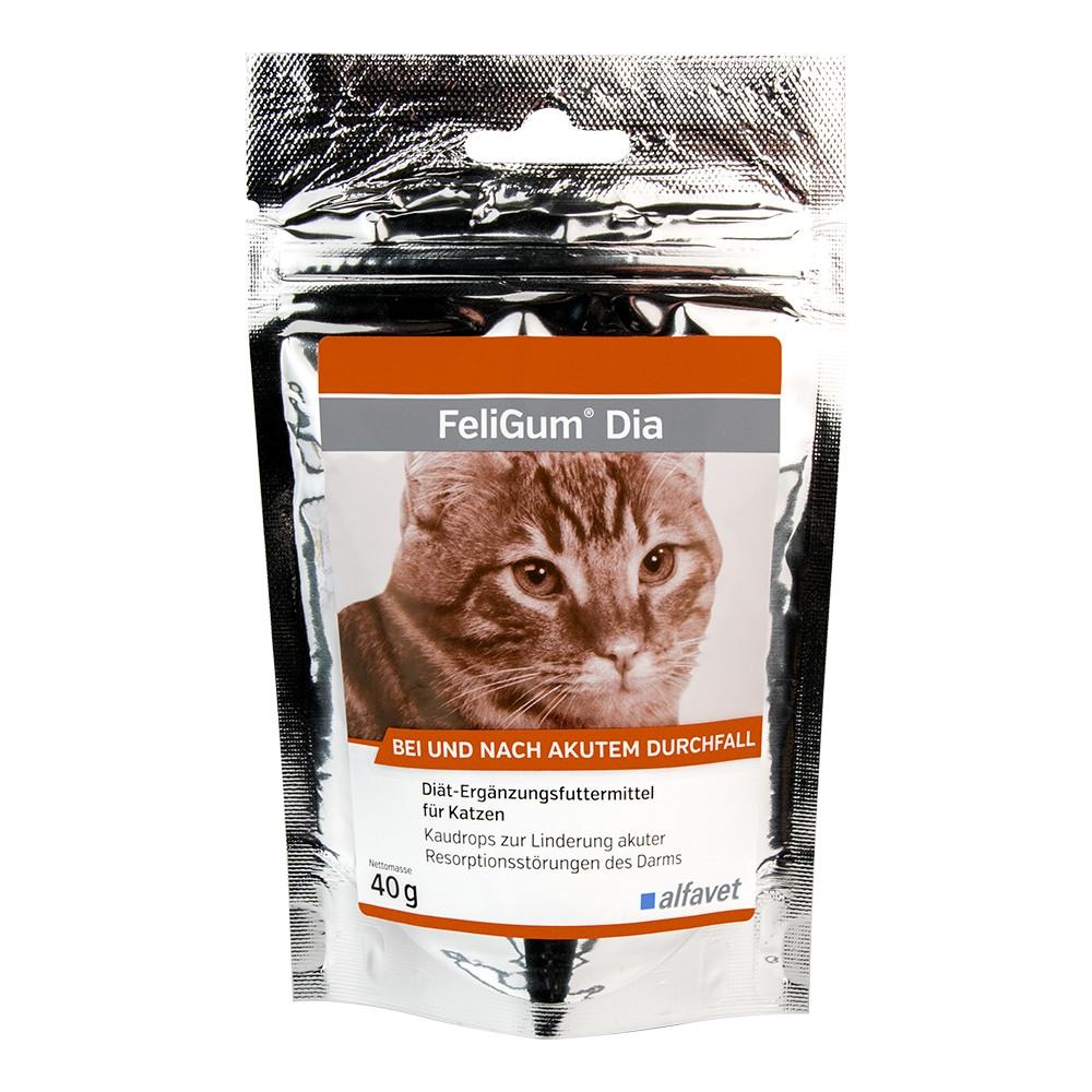 FeliGum Dia für Katzen nach und bei Durchfallerkrankungen von alfavet