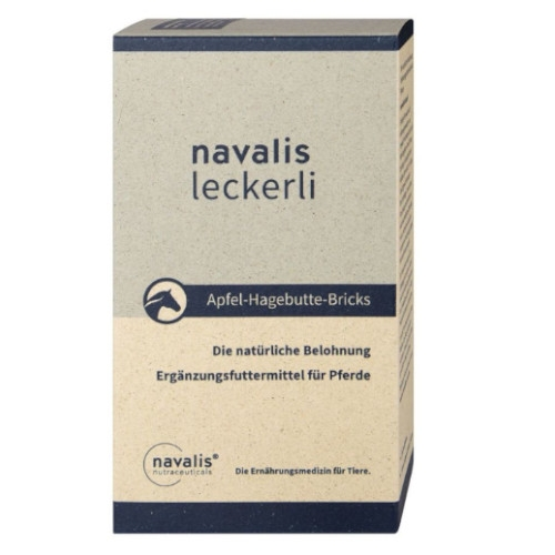 navalis Leckerli Apfel-Hagebutte-Bricks für Pferde