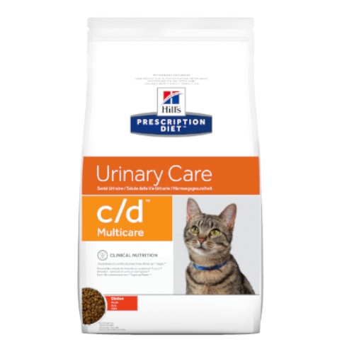 Hill's Prescription Diet c/d Multicare Huhn Feline Trockenfutter
