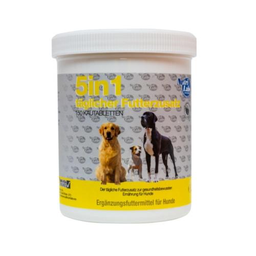 5in1 Futterzusatz für Hunde von Nutri Labs