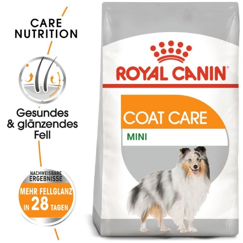 Royal Canin COAT CARE MINI Trockenfutter für kleine Hunde für glänzendes Fell