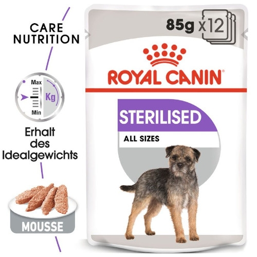 Royal Canin STERILISED Nassfutter für kastrierte Hunde