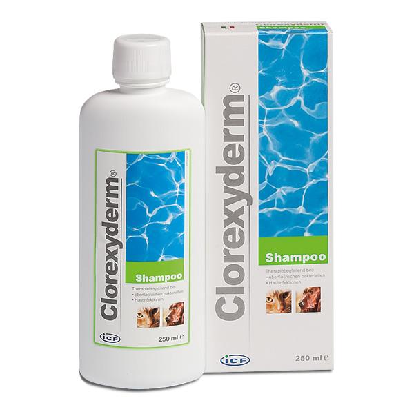 Clorexyderm Shampoo für Hunde und Katzen zur Reinigung der Haut von Livisto